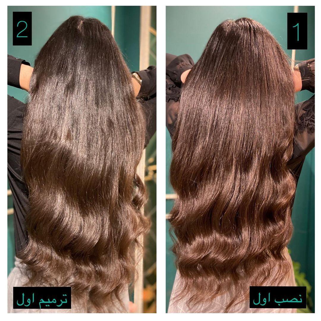 مقایسه اکستنشن مو طبیعی با موی مصنوعی